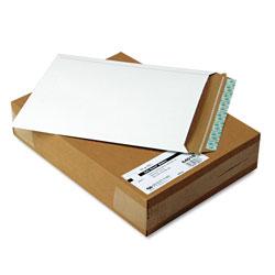 Quality Park Extra-Rigid Photo/Document Mailer, Cheese Blade Flap, Self-Adhesive Closure, 11 x 13.5, White, 25/Box