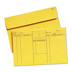 Quality Park Attorney's Envelope/Transport Case File, Cheese Blade Flap, Fold Flap Closure, 10 x 14.75, Cameo Buff, 100/Box
