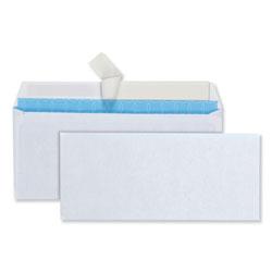 Quality Park Security Envelope, #10, Commercial Flap, Redi-Strip Closure, 4.13 x 9.5, White, 500/Box