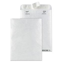Quality Park Catalog Mailers, DuPont Tyvek, #10 1/2, Cheese Blade Flap, Redi-Strip Closure, 9 x 12, White, 50/Box