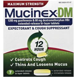 Mucinex Expectorant and Cough Suppressant