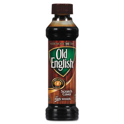 Old English Furniture Scratch Cover, For Dark Woods, 8oz Bottle