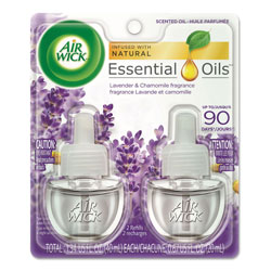 Air Wick Scented Oil Refill, Lavender & Chamomile, 0.67 oz, 2/Pack