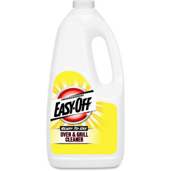 Easy Off Ready-to-Use Oven and Grill Cleaner, Liquid, 2qt Bottle