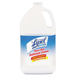 Lysol Disinfectant Heavy-Duty Bathroom Cleaner Concentrate, 1 gal Bottles, 4/Carton