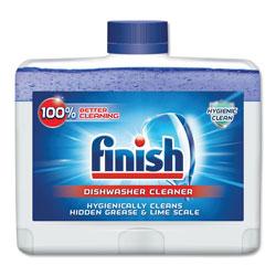 Finish® Dishwasher Cleaner, Fresh, 8.45 oz Bottle, 6/Carton