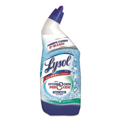 Lysol Toilet Bowl Cleaner with Hydrogen Peroxide, Cool Spring Breeze, 24 oz, 9/Carton