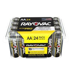 Rayovac Ultra Pro Alkaline AA Batteries, 24/Pack