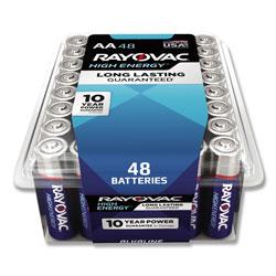 Rayovac Alkaline AA Batteries, 48/Pack