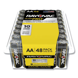 Rayovac Ultra Pro Alkaline AA Batteries, 48/Pack