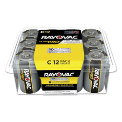 Rayovac Ultra Pro Alkaline C Batteries, 12/Pack