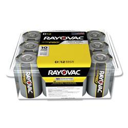 Rayovac Ultra Pro Alkaline D Batteries, 12/Pack