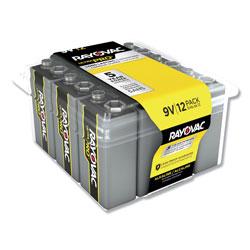 Rayovac Ultra Pro Alkaline 9V Batteries, 12/Pack
