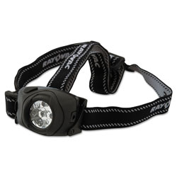 Rayovac Virtually Indestructible LED Headlight, 3 AAA Batteries (Included), Black