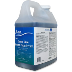 Rochester Midland Enviro Care Neutral Disinfectant, 1/2gal, Blue
