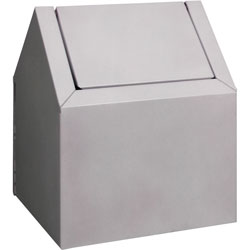 Rochester Midland Disposal Unit, Freestanding, 9-3/8 in x 9 in x 11-1/2 in, 6/CT, White
