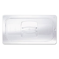 Rubbermaid Cold Food Pan Covers, 10 3/8w x 12 4/5d, Clear