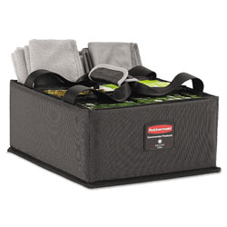 Rubbermaid Executive Quick Cart Caddy, Large, Dark Gray