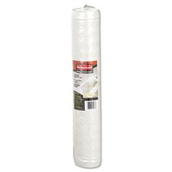 Rubbermaid Safti-Grip Latex-Free Vinyl Bath Mat, 16 x 28, White