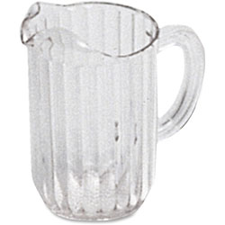 Rubbermaid Pitcher, Polycarbonate, 32 oz, 6/CT, Clear