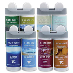 Rubbermaid Microburst® Duet Variety Pack, Refill, Assorted, Case of 4