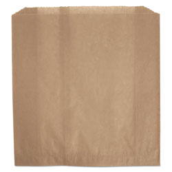Rubbermaid Waxed Napkin Receptacle Liners, 2.75 in x 8.5 in, Brown, 250/Carton