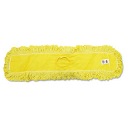 Rubbermaid Trapper Commercial Dust Mop, Looped-end Launderable, 5 in x 36 in, Yellow