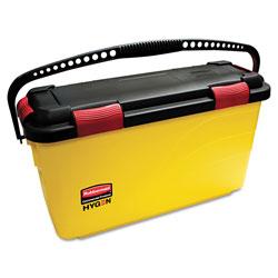 Rubbermaid HYGEN Charging Bucket, Yellow