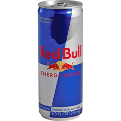 Red Bull Energy Drink, 8.3oz. Can, 24/CT, Original