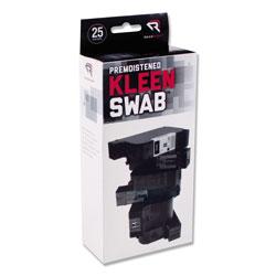 Read Right/Advantus KleenSwabs Printer Cleaner Swabs, 25/Box