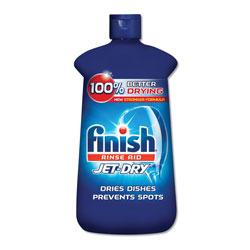 Finish® Jet-Dry Rinse Agent, 8.45oz Bottle, 8/Carton