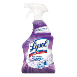 Lysol Mold and Mildew Remover with Bleach, 32 oz Spray Bottle, 12/Carton