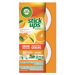 Air Wick Stick Ups Air Freshener, 2.1 oz, Sparkling Citrus, 12/Carton