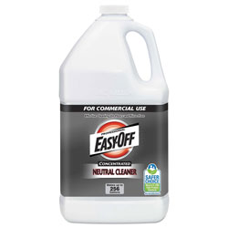 Easy Off Concentrated Neutral Cleaner, 1 gal bottle 2/Carton