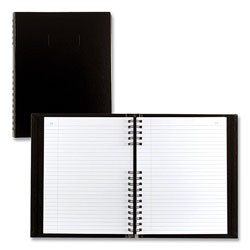 Blueline AccountPro Records Register Book, Black Cover, 7.69 x 10.25, 300 White Pages