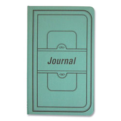 Rediform Tuff Series Accounting Journal, Green Cover, 7.25 x 12.13, 500 White Pages