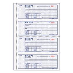 Rediform Money Receipt Book, 7 x 2 3/4, Carbonless Triplicate, 100 Sets/Book