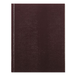 Blueline Executive Notebook, Medium/College Rule, Burgundy Cover, 9.25 x 7.25, 150 Sheets