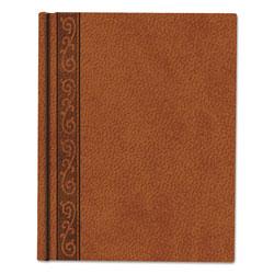 Blueline Da Vinci Notebook, 1 Subject, Medium/College Rule, Tan Cover, 9.25 x 7.25, 75 Sheets