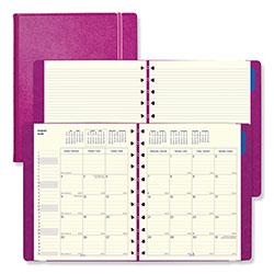 Filofax Monthly Planner, 10.75 x 8.5, Fuchsia, 2020-2021