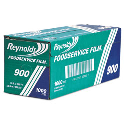 Reynolds Continuous Cling Food Film, 12 in x 1000 ft Roll, Clear