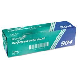 Reynolds PVC Film Roll with Cutter Box, 18 in x 1000 ft, Clear