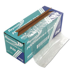 Reynolds PVC Film Roll with Cutter Box, 12 in x 2000 ft, Clear
