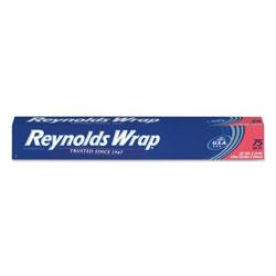 Reynolds Standard Aluminum Foil Roll, 12 in x 75 ft, Silver, 35/Carton