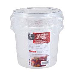 Cambro Multi Pack 6 Quart Translucent Round (2 Pack)