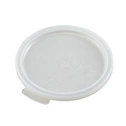 Cambro Round Lid for 1 Quart Poly White
