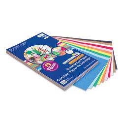 Pacon Riverside Construction Paper, 76 lb, 12 x 18, Assorted Colors, 110/Pack