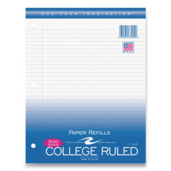 Roaring Spring Paper Notebook Filler Paper, 8.5 x 11, College Rule, 500/Pack