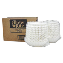 Rockline Basket Filters For Retail And Commercial Coffeemakers, 12 Cups, 10000/carton