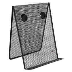 Rolodex Mesh Document Holder, Stainless Steel, Black